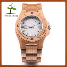 Wooden Quartz Slingshot Buckle 2035 Japan Movt Watch Manual China Watch Manufacturer Man Watch