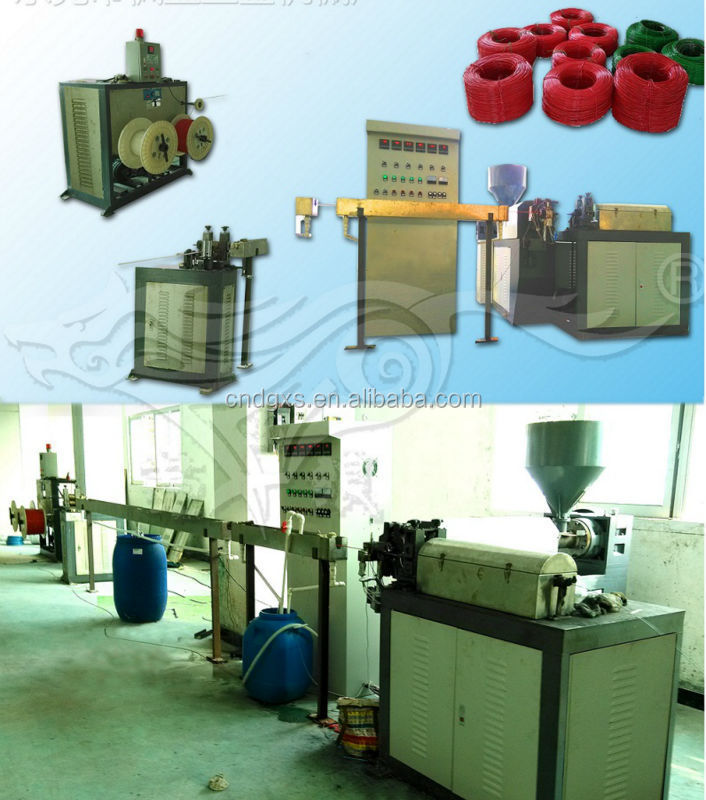 High Effiency iron wire PVC Laminated production line