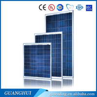 High efficiency 130W-150W Watt solar panels poly module (TUV.MCS,CE) factory directly China
