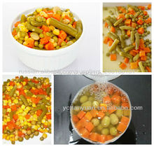 Chinese factory wholesale canned mixed vegetables with good price