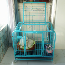 custom heavy duty welded steel square tube dog kennel dog cage