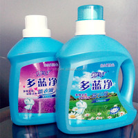 Big volume liquid laundry detergent bottles empty plastic bottle for laundry