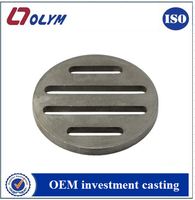 metal casting foundry supply OEM casting floor drain stainless steel cover
