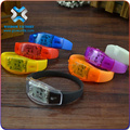 2016 Hot Promotional Flashing Brightness LED Bracelet With LOGO,silicon led bracelet