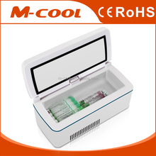 M-COOL 2016 Diabetic micro medical fridge for insulin pump cooling cooler box battery powered mini refrigerator 12v car travel