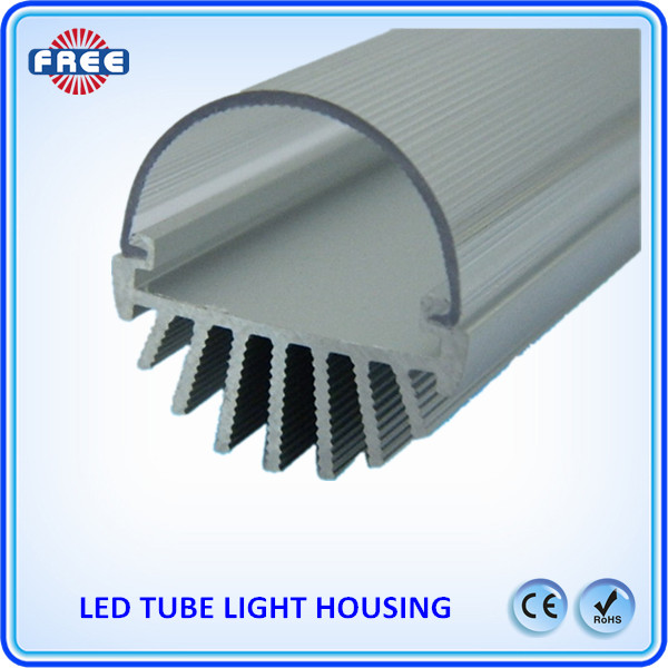 Energy saving T8 led tube light 25W clear cover led lamp