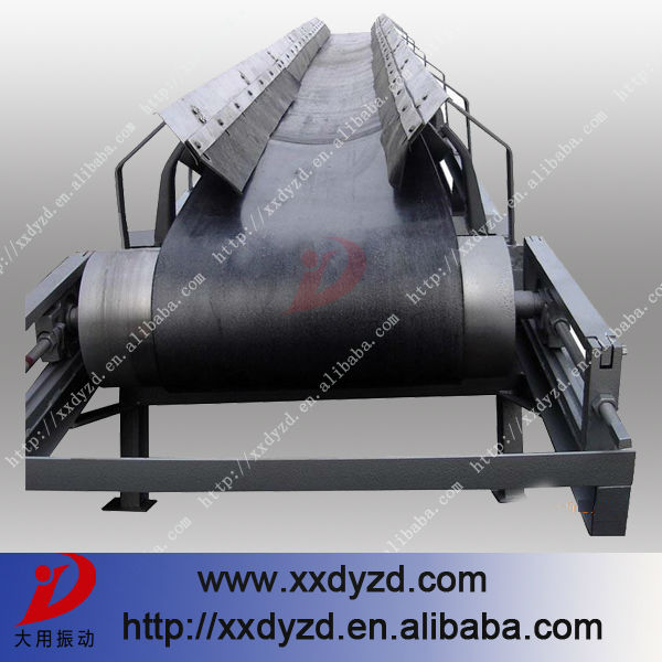stable quality belt conveyor for concrete batching plant