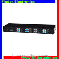Best prices 4x2 VGA Matrix switcher 4 input 2 output Multi-Channel switch with Audio RS2332 remote control