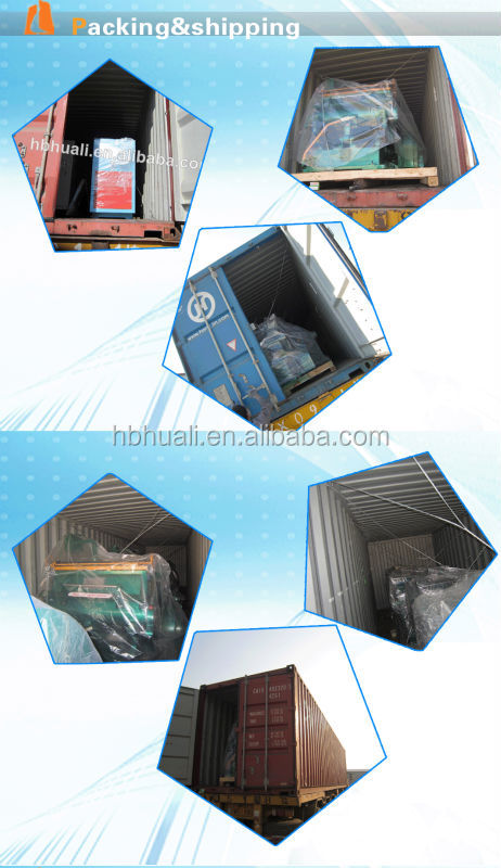 corrugated paperboard 4 colors printing and slotting with slotting attachment