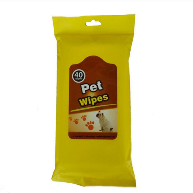 Pet Cleaning Supplies Dog Tears Wet Wipes Away