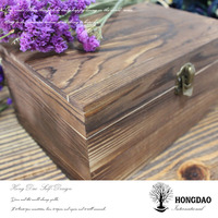 HONGDAO custom-made large wooden box for tools, antique wooden tool box