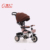 China A Grade Tricycle Baby Strollers 3 in 1 with Back Seat and Sunshade Roof
