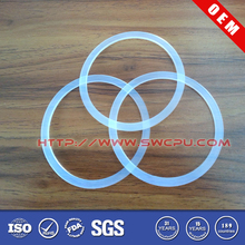 Clear Food-Grade Silicone Rubber Gasket For Jars/Bottles