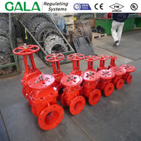 MSS SP-70 Gate Valve Ductile Iron Fire Protection, Resilient Wedge, Flanged