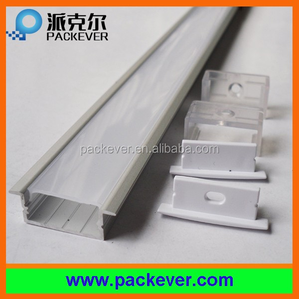 SMD 5050 double row led strip 20mm width aluminum extrusion channel