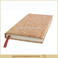 wholesale products china factory directly cork hardcover notebook