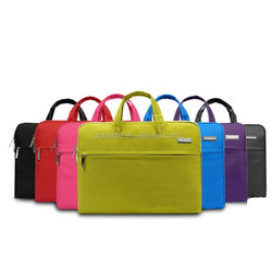 Nylon Lycra Fabric 15-15.6 Inch Laptop Case Briefcase Bag Pouch Sleeve For Notebook Computer MacBook MacBook Pro