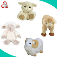 Cute Mini Sheep Plush Toys Animated Plush Sheep Toy Stuffed Animal