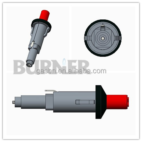 B4403 push button piezo ignitor for gas grill