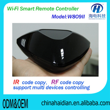 Double sided IR+RF Universal Air Mouse smart tv Remote Control