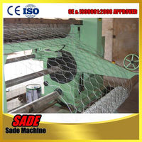 hexagonal wire mesh/reverse twisted hexagonal wire mesh machine/rabbit fencing mesh(Anping Professional manufacturer)
