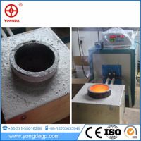 Small Gold/Silver/Copper heating machine metal induction Melting furnace