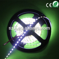 Pure white DC12V CE& RoHS SMD 3014 60Leds/M flex Led Strip 3 Years Warranty