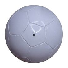 Eco friendly competitive price vinyl PVC Machine-stitched plain white football/soccer gifts