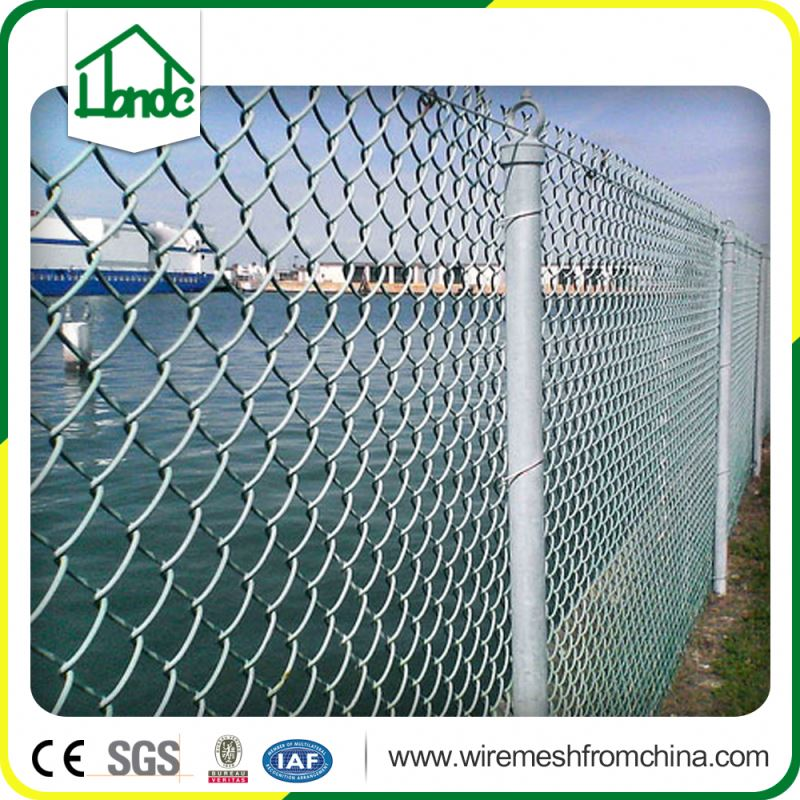 garden border steel galvanized cheap chain link fence