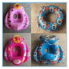Inflatable baby car seat, pvc inflatable float baby swimming ring
