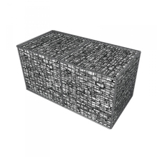High Quality 3*3*1m Hot-dip Galvanized Gabion Stone Cage Welded Mesh Gabion Box