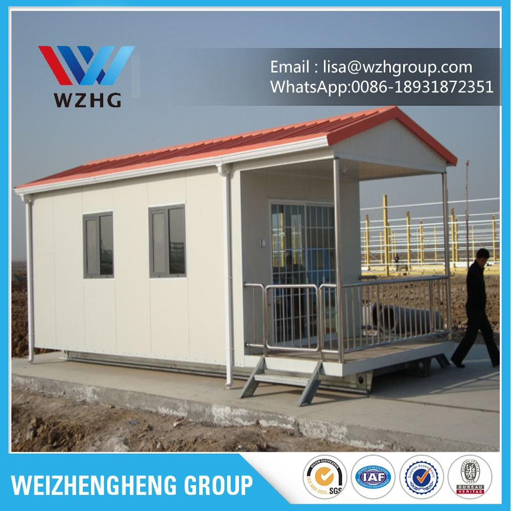 Color Low Cost Portable Prefab Houses