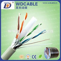 low smoke halogen free cat5,cat5a, cat6 telecommunication cable/lan cable