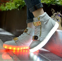 2016 Air High Top Light LED Shoes Wholesale