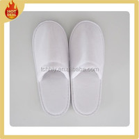 Hotel women/men soft terry bathroom slippers
