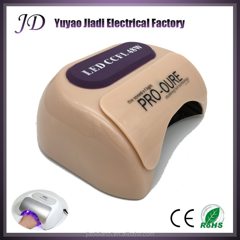 Good quality professional <strong>manufacture</strong> price 48w led cclf nail lamp dryer