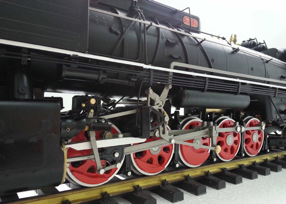 Qianjin 1:32 Live Steam locomotive (Brass made)
