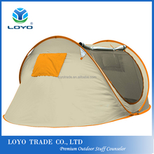 hot selling automatic open camping tent pop up tent