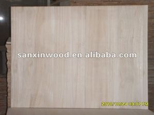 unbleached balsa wood of paulownia