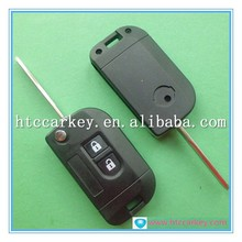 Top quality car key cover for 2 Button Car FlipShell flip key nissan