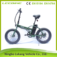 supplier manufacture folding beach snow fat tire electric bike