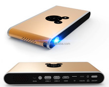 Android iOS/iphone ipad connection mini LED projector 3d projector portable projector hd with digital dlp lcd polorized