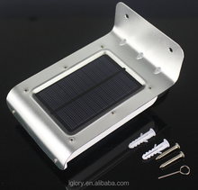Wholesale new energy-saving induction solar wall lamp Outdoor sound solar lights Led induction lamp