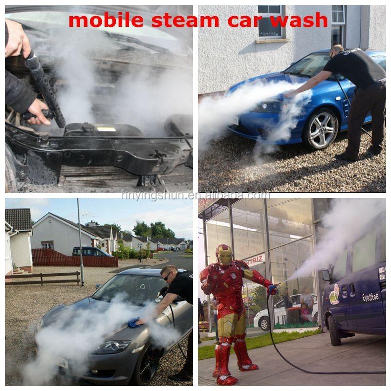 2015 Ce 30 Bar Diesel Type Industrial High Pressure Car Steam