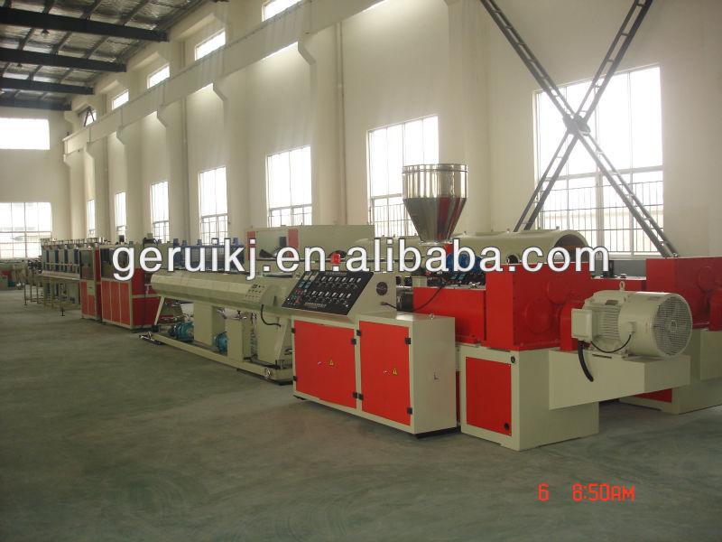Professional PVC pipe production line