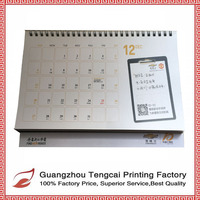 OEM direct-factory sale unique paper elegant desk calendar
