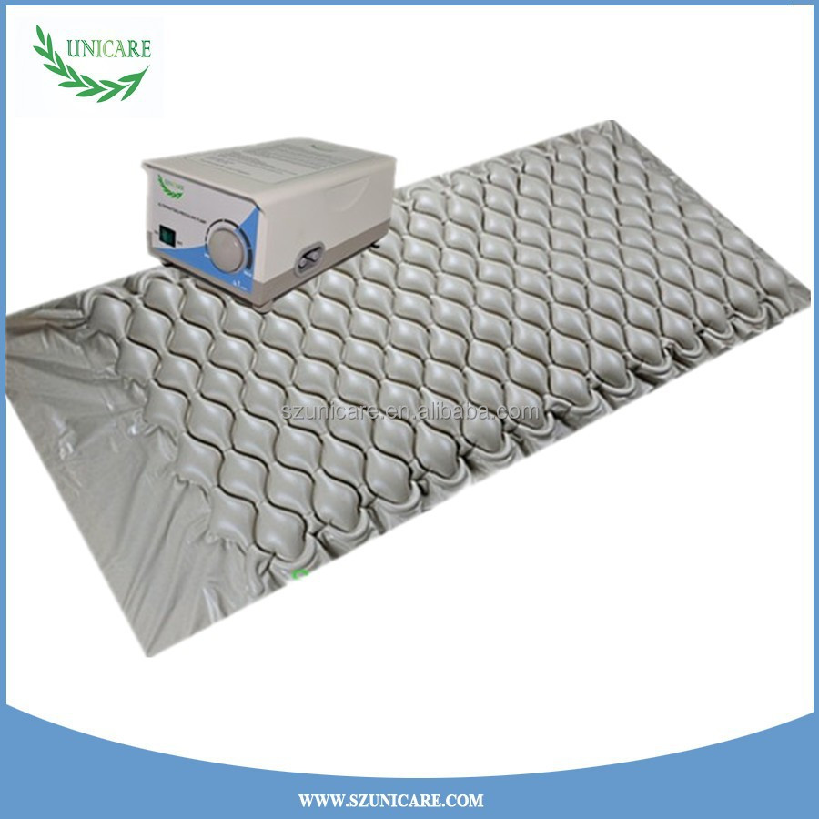 200*90 cm 130 cells medical inflatable anti-bedsore bubble air mattress
