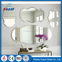 Top Quality Colored aluminum Frameless mirror Glass