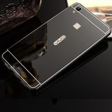 aluminum metal bumper mirror back cover for vivo v3 max
