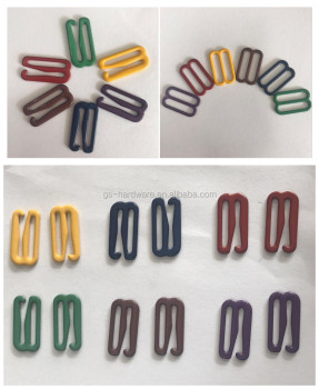Lingerie buckles nylon coated garment accessory fashion underwear accessories JX-B011